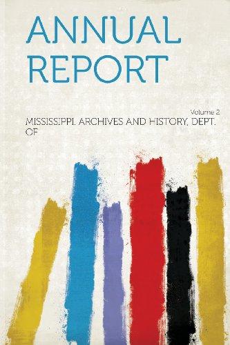 Annual Report Volume 2