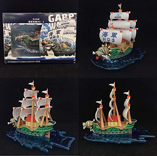 THTB One Piece Schiff Monkey D GARP ohne Figuren ca. 13 cm