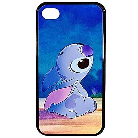 Lapinette Coque Rigide Disney Lilo Et Stitch 1 Apple Iphone 4 - 4s