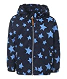 Ticket to Heaven Unisex Jacke Maxi m. Abnehmbarer Kapuze Allover, Blau (Total Eclipse 3000), 104