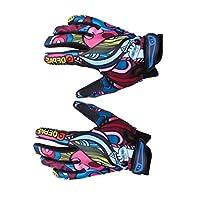 HappyJacky® Negro Guantes de Béisbol Finger Completa Deportes al Aire Libre Equitación Motos Bicicletas Caballo Montar Guantes M/L/XL Tamaño de HappyJacky