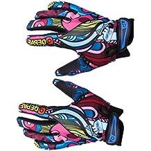 Men's Sports Gloves Mountain Bike Gloves Full Finger Bicycle Gloves Winter---M - Mens Sport Bike