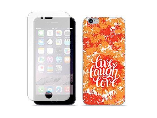 etuo Apple iPhone 6s Plus - Hülle Full Body Slim Fantastic - Leben Lachen Lieben - Handyhülle Schutzhülle Etui Case Cover Tasche für Handy