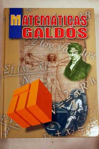 Matematicas Galdos par Equipo Editorial