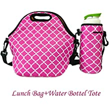 Funda de neopreno para comida, para el almuerzo, bolsa nevera aislante, escuela, mochila térmica de picnic, para mujeres, hombres y niños