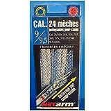 24 mèches nettotyante pour canon calibre 9mm - Miltec