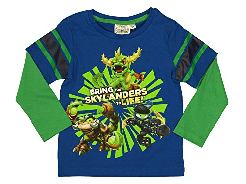 Skylanders Boys Long Sleeve T-Shirt from 3 to 8 Years (3 Jahre)