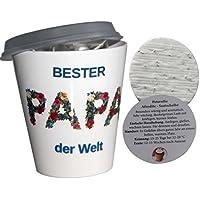 Blumentopf Papa Kräuter Pflanz