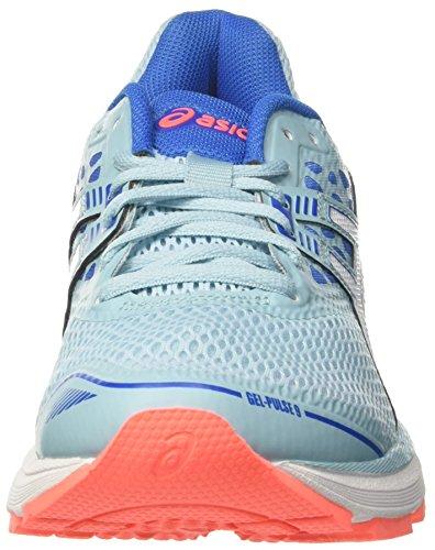 Asics Gel-pulse 9, Scarpe Running Donna Blu (bleu Porcelaine / Blanc / Bleu Victoria 1401)