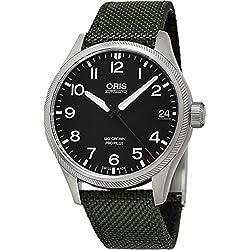 Oris Big Crown Propilot 751-7697-4164FS reloj Automático para hombre, Dial Negro