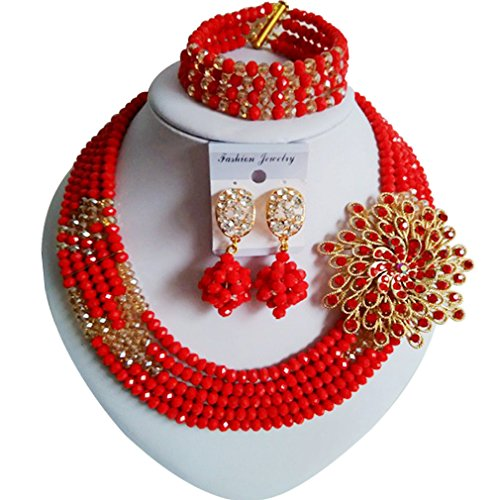 laanc-womens-popular-season-5-rows-6mm-crystal-nigerian-african-beads-bridal-wedding-jewellery-sets