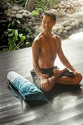 Set Yoga Matte Tasche und Gurt–tragen alle Größe Yoga Matte–handgefertigt Bio Baumwolle–große Cargotasche Cool Rucksack–Yoga Pilates Gym Fitness oder Casual–Tie Dye