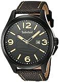 TIMBERLAND Herren Analog Quarz Smart Watch Armbanduhr mit Stoff Armband TBL.14476JSB/02