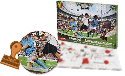 Roth 80208 Stempel-Adventskalender Fußball