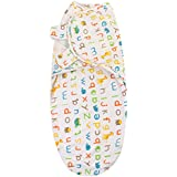 Swaddle Blanket, Adjustable Infant Baby Wrap By House Of Quirk Soft Cotton - ABC