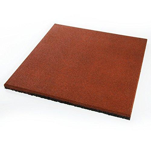 Fallschutzmatte Protect PRO - 50x50cm - rot