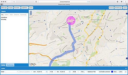 FINDULIN CONNECT - Die sichere GPS Tracker Ortungs Plattform MADE IN GERMANY. 12-Monats Paket + 2 MONATE KOSTENLOS. Umgerechnet supergünstige 2,78 € / monatlich! Für unsere Tracker Findulin ONE, Bike, Easy oder PRO. 12-plattform