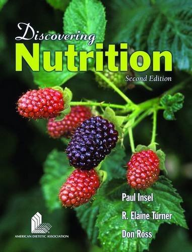 Discovering Nutrition: Student Study Guide by Paul Insel (2005-11-28)