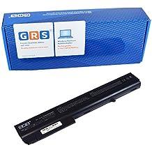 GRS Batteria per notebook HP Compaq 7400, 8200, 8400, 9400, NC8200, nw8200, NX7300, NX7400nx8200, NX8220, 8510W, 8710W, nw8240, nw8440, nw9440, Sostituito: PB992A, HSTNN-UB11, HSTNN-OB06, HSTNN-LB11, HSTNN-DB11, HSTNN-DB06, 398876–001, 381374–001, Laptop Batteria 4400mAh, 14.4V