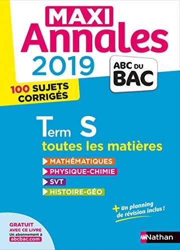 Maxi Annales ABC du Bac 2019 - Terminale S