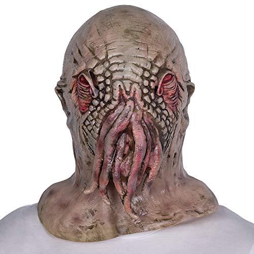 Wan mask Octopus Tierkopfbedeckung Geeignet für Maskerade, Kostümparty, Karneval, Weihnachten, Ostern, Halloween, Bühnenauftritt, Basteldekoration