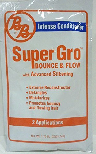 [BB] INTENSE CONDITIONER SUPER GRO BOUNCE & FLOW WITH ADVANCED SILKENING 1.75OZ by BB