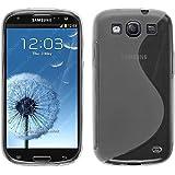 Funda de silicona para Samsung Galaxy S3 Neo - S-Style transparente - Cover PhoneNatic Cubierta + protector de pantalla
