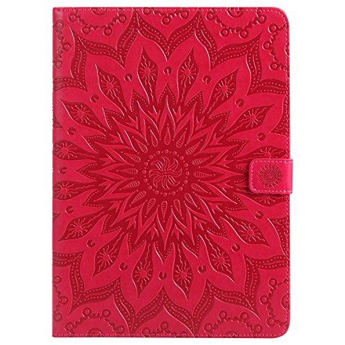 Cozy Hut iPad Pro 2016 Hülle,iPad Pro 2016 Hülle Case, iPad Pro 2016 Leder Tasche Design Sonnenblumen-Serie, Ultra Slim Fit Apple iPad Pro 2016 9.7 Zoll Schutzhülle Etui Bunte PU Ledertasch