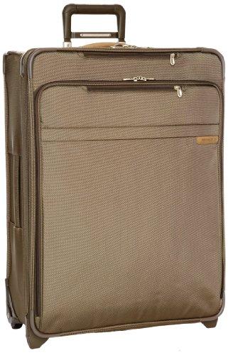 Briggs & Riley Travelware - Expandable L, Cartella portadocumenti unisex, color Verde (Olive), talla L