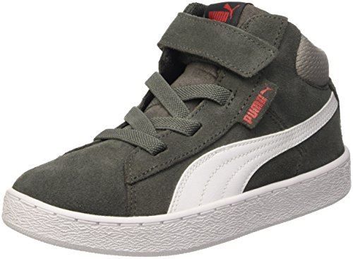 Puma 1948 Mid V Ps, Sneaker Children and Teenagers (Gymnastics), Dark Shadow/Bianco, 10 EU