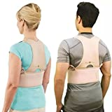 Hemiza Adjustable Back Brace for Posture Correction Back Pain Support Unisex Belt For Pain Relief