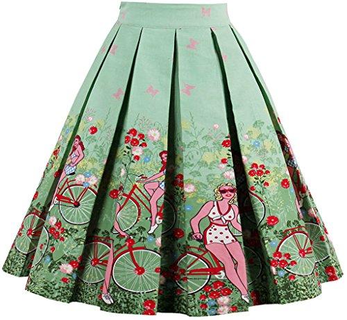eudolah-womens-vintage-floral-swing-full-circle-pleated-skirts-bicyclegirlm