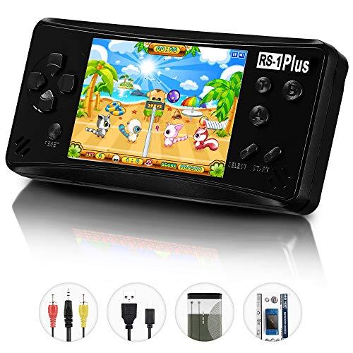 QINGSHE Console di Giochi Portatile, RS-1 Plus Console di Giochi retrò Game Player 3.5 Pollice 218...
