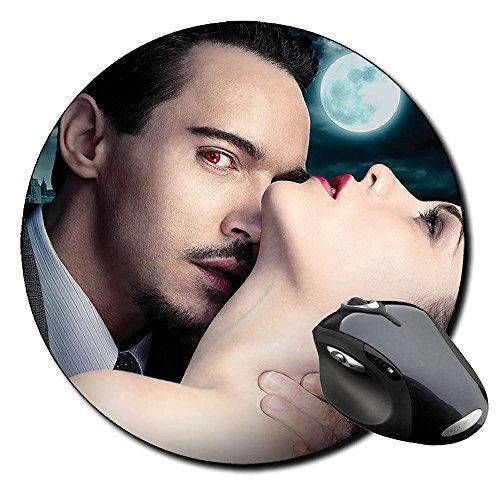 Dracula Jonathan Rhys Meyers B Mauspad Round Mousepad PC (Rhys Meyers Dracula-jonathan)