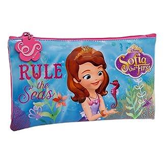 Disney Sofia The Seas Neceser de Viaje, 0.76 litros, Color Rosa