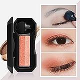 Lidschatten❤️❤️ Vovotrade Mini-Schimmer Zwei-Farben-Stempel Lidschatten-Palette Make-up Powder Flexibilität dauerhafte exquisite und schöne perfekte Geschenk (B)