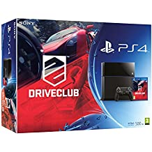 PlayStation 4 - Consola 500 GB, Color Negro + DriveClub