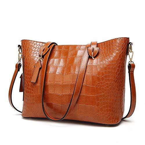 22e4d008f7e LFNYZX Luxury Handbag Women Bags Designer Crocodile Ladies Shoulder Bag  Vintage Oil Wax Leather Handbag Crossbody