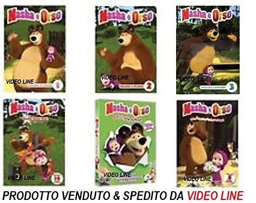 MASHA ORSO - Serie 01-02-03 Rockstar Amici per Sempre Piccoli (6 DVD) Edizione Italiana