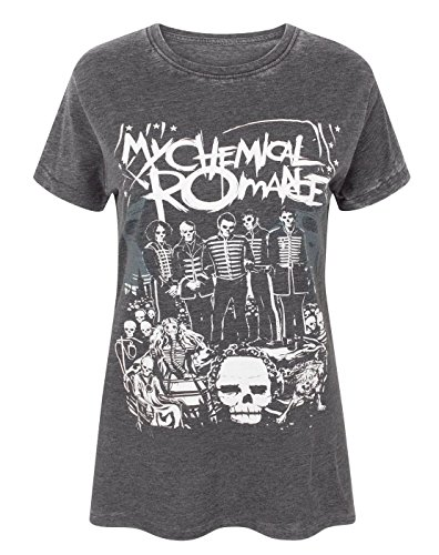 My Chemical Romance The Black Parade Poster Burn Out Women's T-Shirt