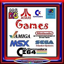 InsideMix ⭐ 800 Giochi Vintage Games Retrogames Giochi Anni 80 Giochi Anni 90 Funzionanti su Windows e MAC su PEN USB 32GB Senza Bisogno di Emulatore Giochi Amiga Commodore PC Atari Sega Nintendo
