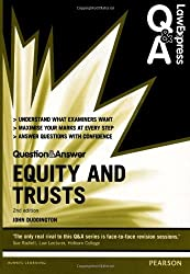 Equity and Trusts (Law Express Questions & Answers) by John Duddington (2013-08-15)