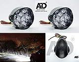 A2D G6 L5-L3 9 LED 6000k Cree LED Cut Super Light Reflector Transformer