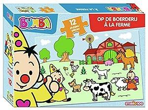 Studio 100 MEBU00003970 Puzzle Puzzle - Rompecabezas (Puzzle Rompecabezas, Juguete, Niños, Niño/niña, Caja, 12 Pieza(s))