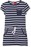 s.Oliver Baby-Mädchen Kleid Kurz, Blau (Tiefseeblau Stripes 58G9)