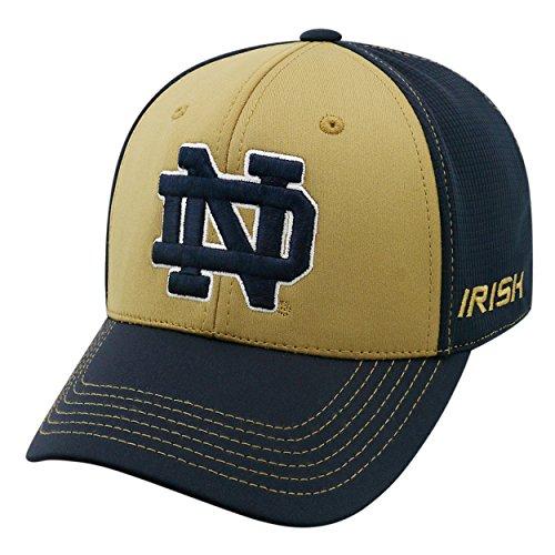 Top of the World NCAA-Dynamic-1-Fit-Memory Fit-Hat Cap Gr. Einheitsgröße (Medium/Large), Notre Dame Fighting Irish -