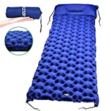 Best Air Mattress For Campings - yirenyoupin Inflatable Sleeping Pad,Ultralight Camping Mattress With Pillow,Portable&Folding Review