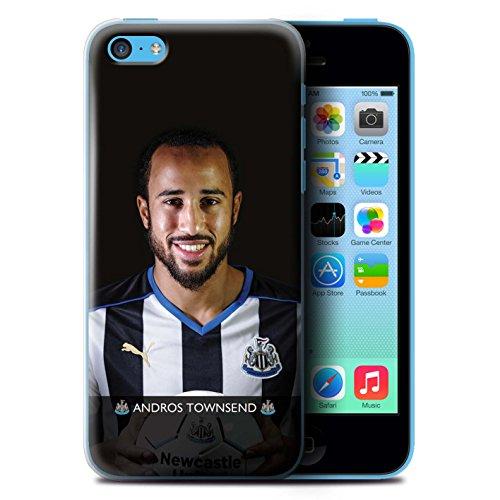Offiziell Newcastle United FC Hülle / Case für Apple iPhone 5C / Haïdara Muster / NUFC Fussballspieler 15/16 Kollektion Townsend