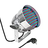 Cameo Light CLP56RGB05PS 151 x 5mm LED RGB PAR Scheinwerfer in poliertem Gehäuse in
