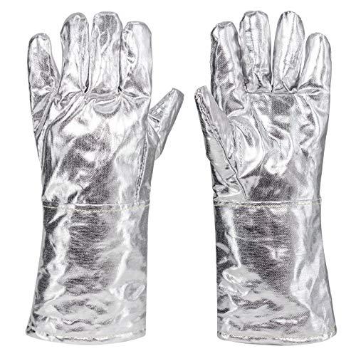 Guantes seguro mano obra Gruesos guantes soldadura